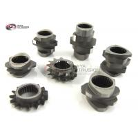 China Customized Extruder Screw Elements , Extrusion Machine Parts Kneading And Mixing Elements wholesale
