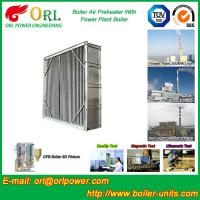 China Coal Fired Boiler Air Preheater 10 Ton - 1000 Ton Corrosion Resistance wholesale