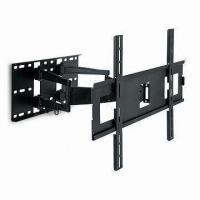 China TV Wall Mount with Swivel Double Arm and 2 Up and 9° Down Adjustable Tilt wholesale