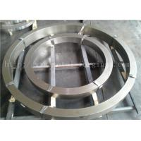 Quality F304L F304 F30 F316 F316L Forged Steel Rings Heat Treatment  Rough Machined for sale
