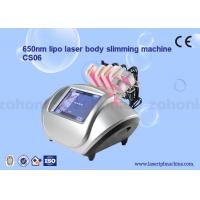 Wholesale S06 diode lipo laser Cryolipolysis Slimming Machine / Low Level Laser Therapy from china suppliers