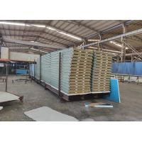 China Rockwool Steel Sandwich Panel Trade Assurance Non Flammable Easy Installation wholesale