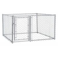 China Multi Function Metal Dog Kennel Dog Cages For Outside 60mm*60mm Mesh on sale