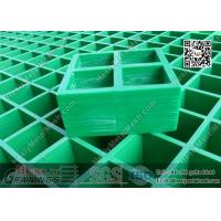 China 38mm THK Green Color Molded Fiberglass Grating | USCG Certificated wholesale