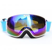 China Custom Adult Sport Blue Polarized Snow Goggles For Mountaineering Protective Eyewear wholesale