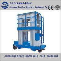 China Aluminum alloy hydraulic lifting platform wholesale