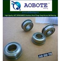 Quality ZZ Sealed Deep Groove Ball Bearing Stainless Steel Flange ABT SFRW188ZZ for sale