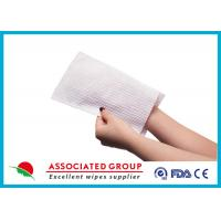 China Soft Wet Wash Glove For Patients wholesale