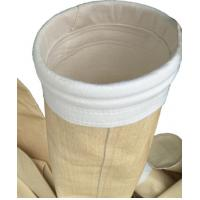 China Non Woven Industrial Dust Filter Bag P84 Material Ce Approval For Asphalt wholesale