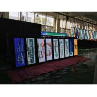 Quality Double Sided 4.8mm Thin Led Displays , Outdoor Led Display Board Die Casting Cabinet for sale