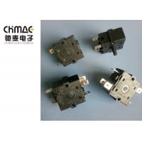 China RS Series 17mm Multi Position Rotary Switch Plastic Shaft For Micro Oven wholesale