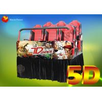 China Entertainment  Electronic System 5D Movie Theater 5d Simulator wholesale