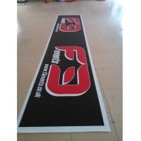 China Indoor Personalised Vinyl Banners , Mesh Printed PVC Banners With Metal Eyelets wholesale