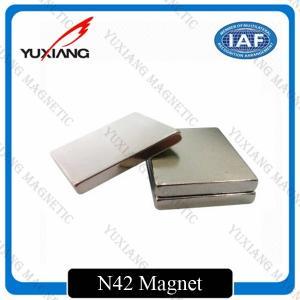 China Sintered Neodymium Block Magnets Tighter Tolerances For MRI / Wind Generator wholesale