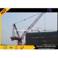 China QTD160 Building Tower Crane , Luffing Jib Tower Crane With Overlapping Slewing Areas wholesale