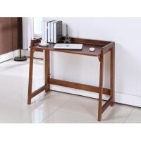 China Solid Foldable Wood Computer Desk 100 * 60 * 30 Cm Saving Room For Home / Office wholesale
