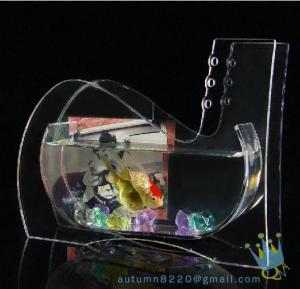 China Wedding decoration small acrylic fish tank wholesale