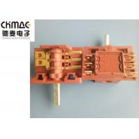 China Brass Terminals Oven Rotary Switch Red PA66 Metal Pins AC2 AC3 Color Optional wholesale