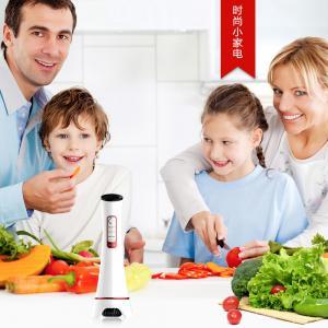 China Yellow Green Pink Sub Health Analyzer Vegetables Fruits Sterilizing Food Washer Machine wholesale