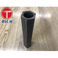 China 3000-6000mm Cold Drawn Special Steel Pipe , Hexagonal Steel Tube For Machining wholesale