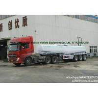 China rare sulfuric acid tanker -33Tons-  acid tanker trailer V shape WhatsApp:8615271357675 on sale
