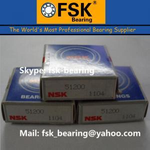 China China Thrust Ball Bearings NSK 51200 Thrust Bearing Catalog wholesale