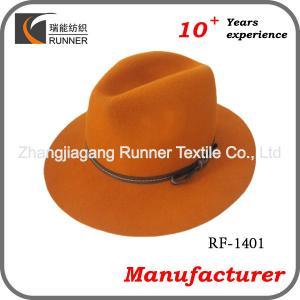 China Fedora hats wholesale wholesale