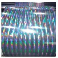 China Hot sale transparent PET holographic film for lamination and printing wholesale