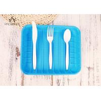China Compostable Disposable Tableware Forks / Spoons / Knives For Dessert / Food wholesale