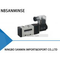 Quality 1/4 3/8 1/2 Electrical Pneumatic Solenoid Valve NBSANMINSE PU520 Air Control Valve for sale