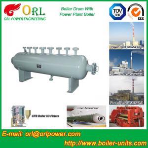 China Mining Industry Electrical Water Boiler Mud Drum ISO9001 ASME / EN Passed wholesale