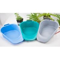 China Plastic disposable patient fracture bedpan, Medical bedpan with Handles, Adult bedpan with many color wholesale