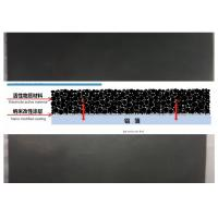 China Black Carbon Coated Aluminum Foil For Lithium Ion Batteries 0.1 - 1.2m Width wholesale
