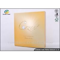 China Foil Logo Luxury Packaging Boxes , Collapsible Gift Boxes Non - Benzene Printing wholesale