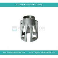 China Pump body CF8 stainless steel lost wax casting parts max weight 80kg leaking test X ray wholesale