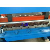 China Concrete Roof Tile Making Machine Hydraulic Cutting Roll Forming Lines For Construction wholesale