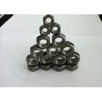 China DIN934 Hex Head Carbon Steel Nuts / Hexagon Weld Nuts For High Speed Railways wholesale
