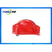 China Large Battery HD Camera 4G Wireless Device Intelligent Safety Helmet For Railway Mining wholesale