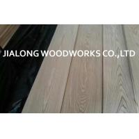China Ash Wood Plain Cut Natural Wood Veneer Sheet / Reconstituted Veneer wholesale