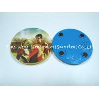 Buy cheap Melody Flashing Cup Led Coaster Custom Sound Module 95mm Diameter from wholesalers