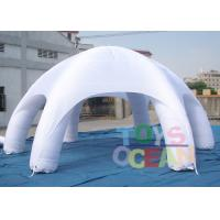 China 8m DIA Giant White Water Proof Inflatable Tents Show , Inflatable Dome Tent For Advertising wholesale