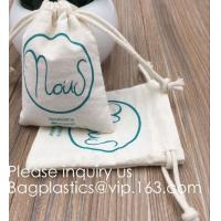 China Drawstring Bags Reusable Muslin Cloth Gift Candy Favor Bag Jewelry Pouches for Wedding DIY Craft Soaps Herbs Tea Spice B wholesale