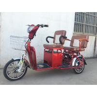 China Two Persons 3 Wheel Electric Tricycle Scooter 800W Brushless Steel Frame wholesale