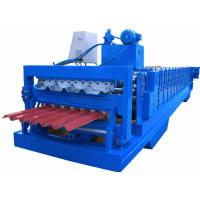 China PPGI Sheet Cold Roll Forming Equipment Japan Panasonic PLC Controller High Efficiency wholesale
