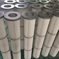 China Cylindrical  Gas Turbine Filters Anti Static Membrane on sale