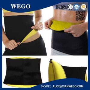 China WG-TV004 Women Slimming Training Neoprene Fat Burner Slimming Training Neoprene Fat Burner Waist Body Shaper Tummy Fit wholesale