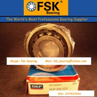 Quality Single Row SKF Cylindrical Roller Thrust Bearings for Girder Elevator NUP206ECP for sale