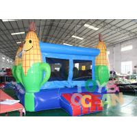 China Commercial Corn Moonwalk Jumps Inflatable Bouncy Castles For Adults wholesale