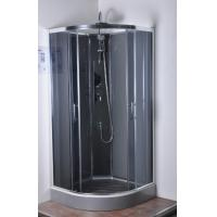 Ce approved quadrant shower cubicles normal temperature for Shower cubicle shelves