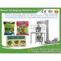 China Vegetable packing machine with multi-heads weigher,Vegetable packaging machine with Nitrogen making machine wholesale